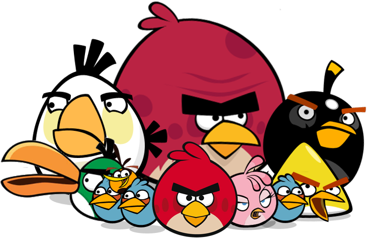 Angry Birds Alice clip