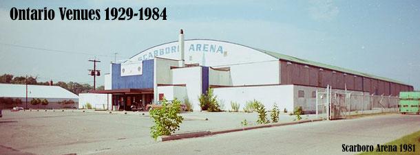 Ontario Venues 1929-1984