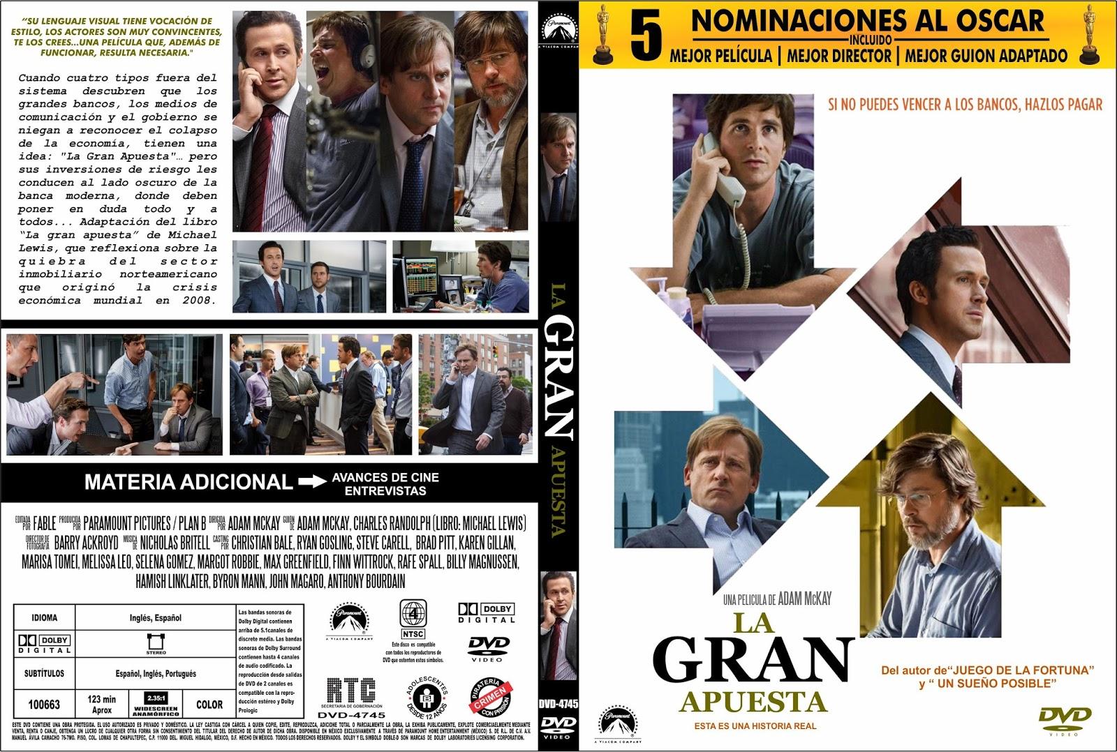 Peliculas Dvd Full La Gran Apuesta