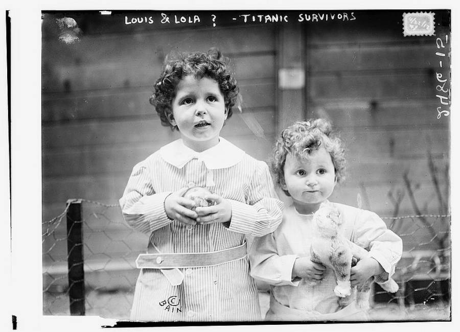 "The ""Titanic orphans"