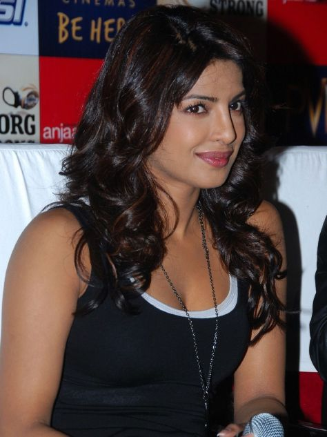 Priyanka Chopra Latest Photos In Black Dress