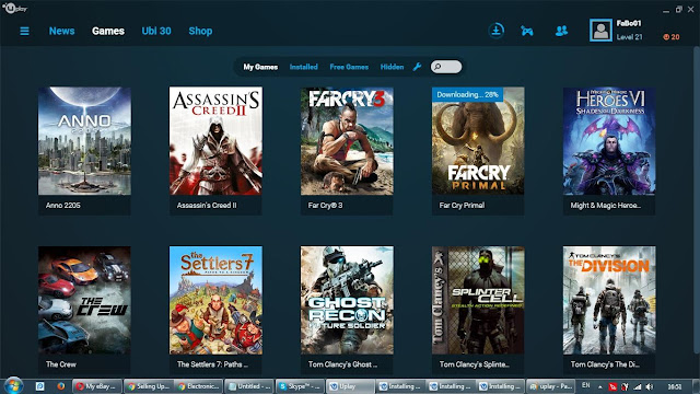 Uplay Account Username and Password Free