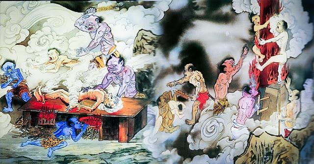 Khi sống là điều ác, khi qua đời đi sẽ bị đọa làm 24 loại ngạ quỷ đáng sợ này