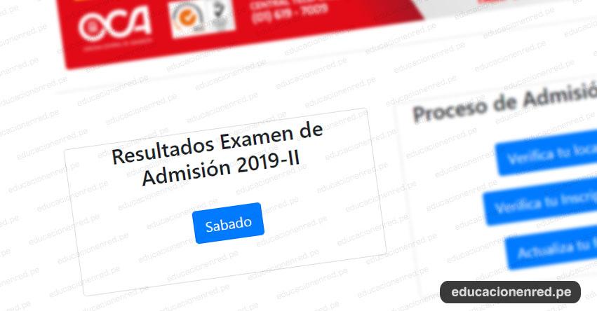 UNMSM Publicó Resultados Admisión San Marcos 2019-2 (Examen Sábado 9 Marzo) Lista de Ingresantes - Universidad Nacional Mayor de San Marcos - www.unmsm.edu.pe