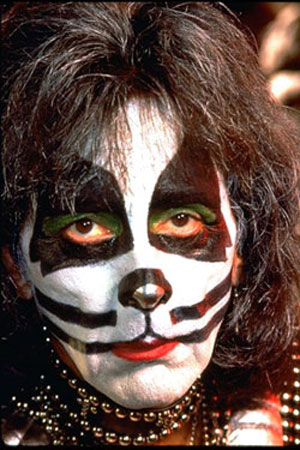 Kiss Face Paint Cat