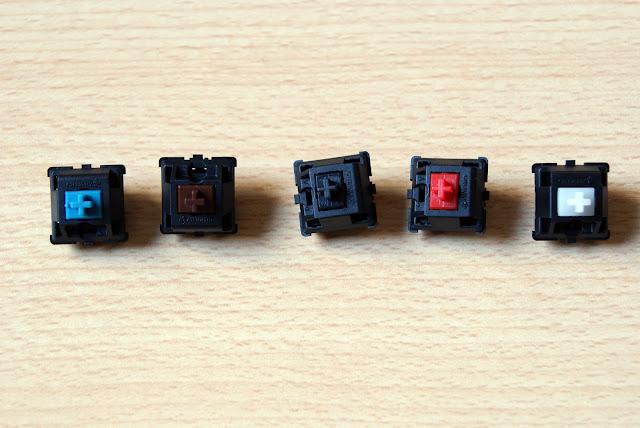 Interruptores mecánicos Cherry MX