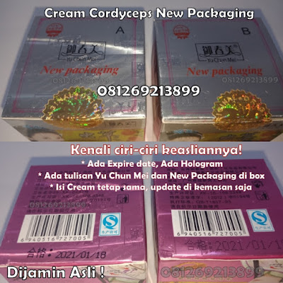 Cream Cordyceps New Packaging