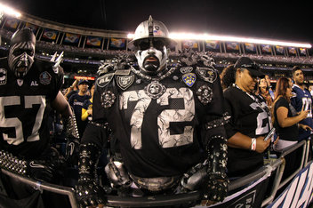 Oakland Raiders Black Hole Toozak - Pics about space