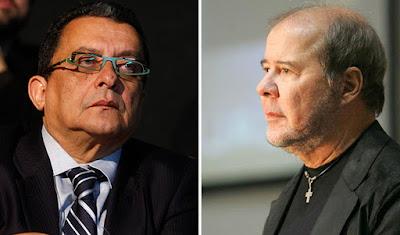 João Santana e Duda Mendonça - Blog do Asno
