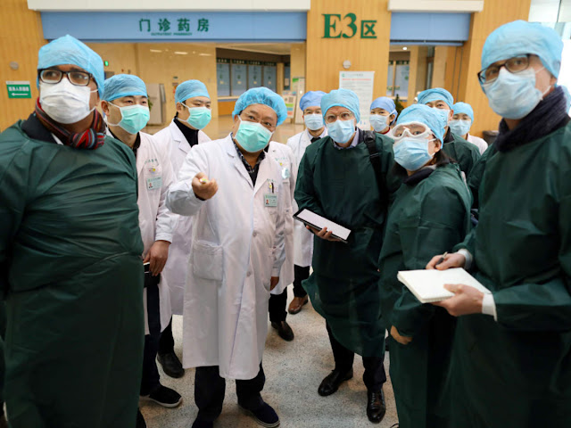World Health Organization team went to Wuhan city of China for investigation