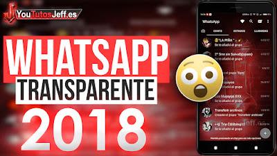 Descargar Whatsapp Transparente 2018, Whatsapp Transparente