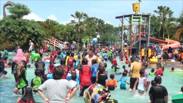 Peringati HAN Waterpark Gelar Berbagai Lomba