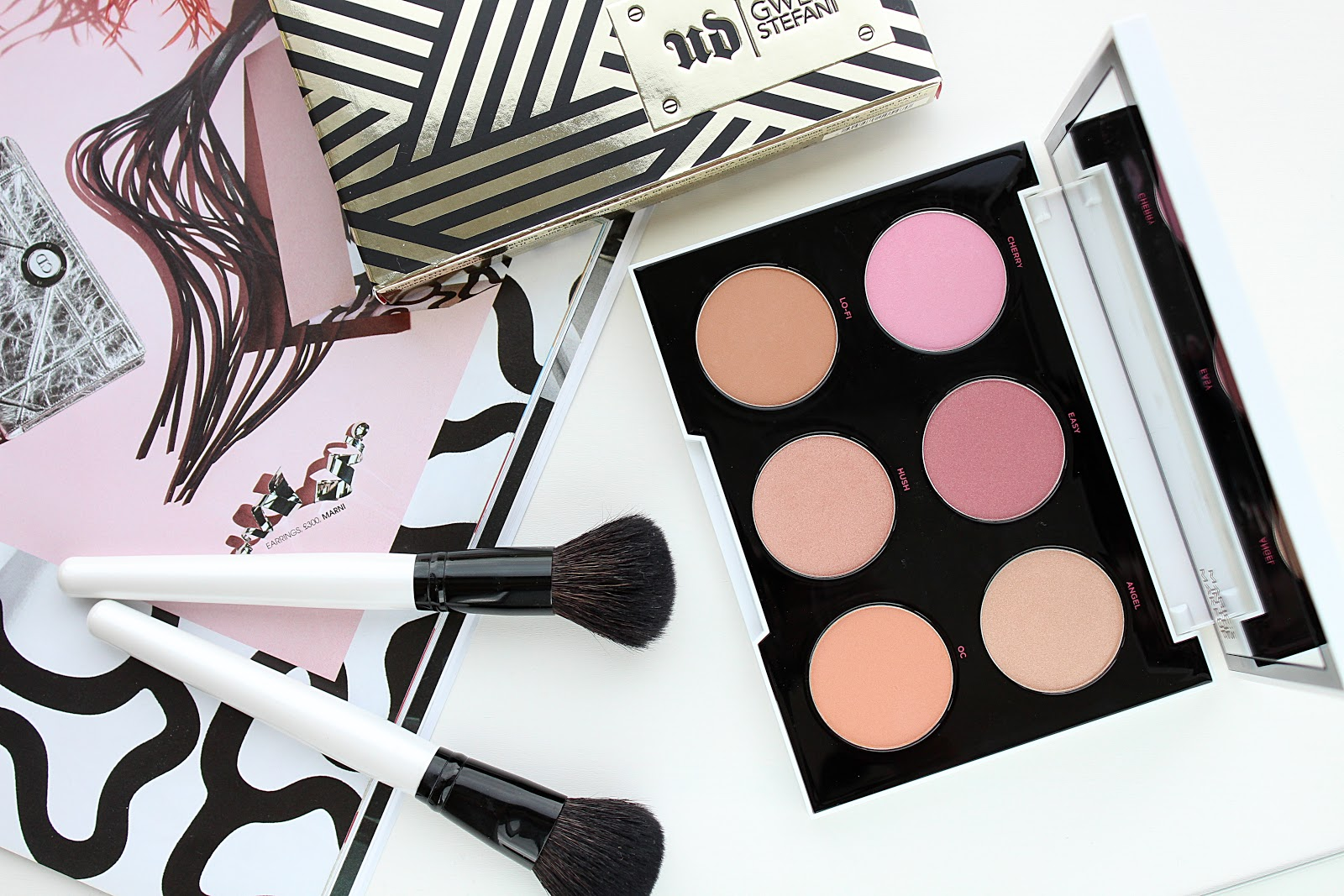 Urban Decay Gwen Stefani Blush Palette Review & Swatches