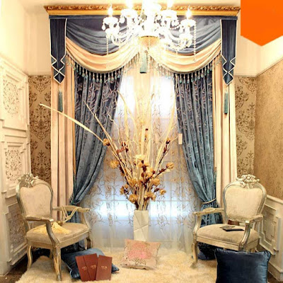 The best types of curtains and curtain design styles 2019, Italian curtains