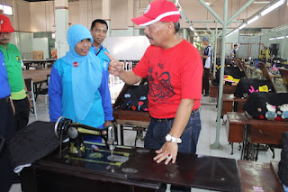 Selain Penuhi Janji Kerja Bakti, Pj Walikota Ini Juga Puji Karya Anak SMK