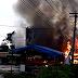 Kebakaran Hebat Hanguskan 6 Kios di Telukjambe Timur