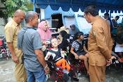 Dinsos Aceh Kembali Salurkan 100 Unit Kursi Roda untuk Anak Berkebutuhan Khusus