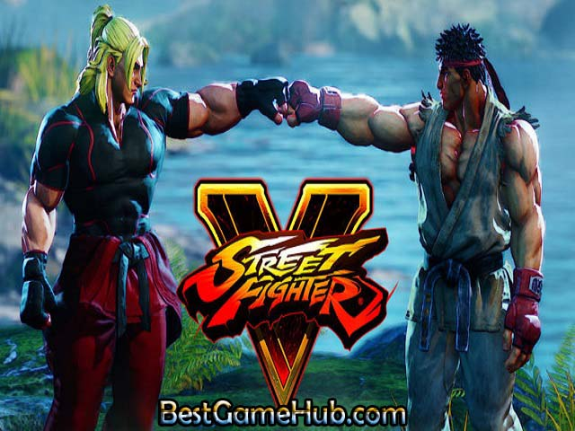 Street Fighter V PC Game With Crack Free Download
