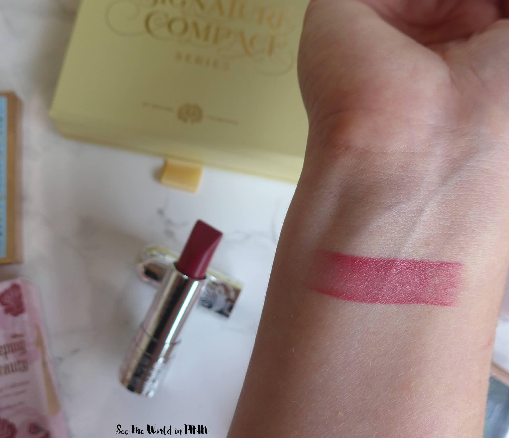 Besame Cosmetics - Aurora Disney Princess Signature Compact & Lipstick