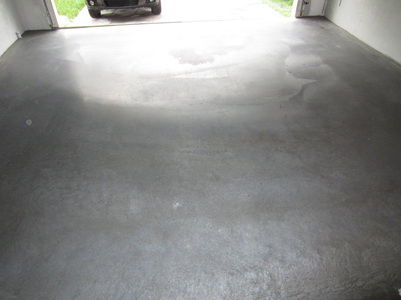 1 Part Garage Floor Epoxy