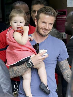 Pria Berjenggot Dilihat Sebagai Calon Ayah Yang Baik Seperti David Beckham