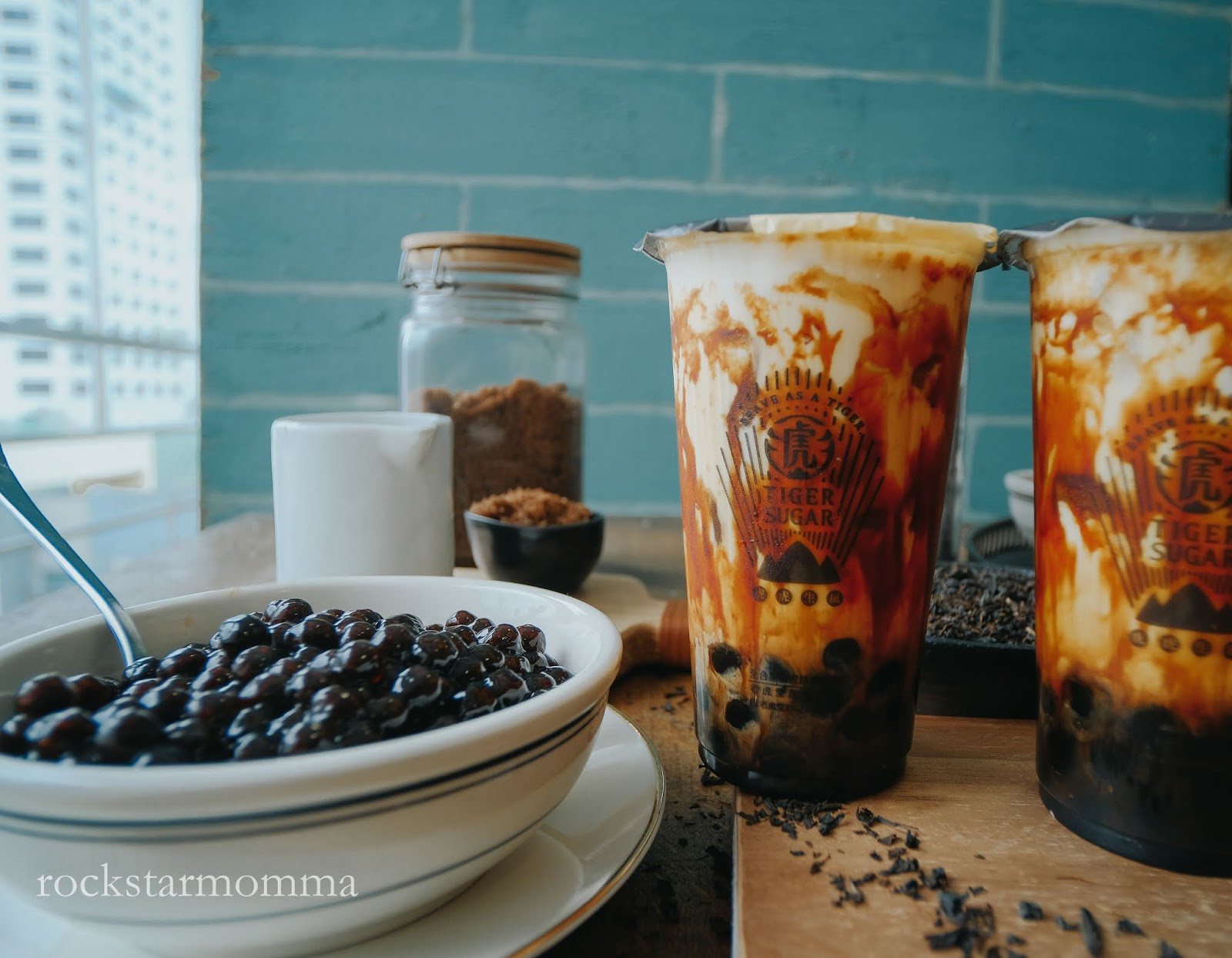 Taiwan's Famous Tiger Sugar is Now Here in Manila