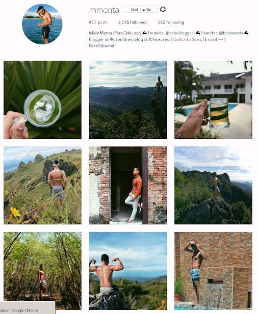 Mark Monta Instagram Account