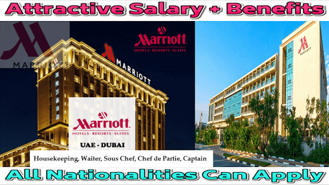 Recruitment At Marriott Hotels In UAE