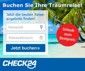 Pauschalreisen Preisvergleich bei check24 dem Vergleichsportal im Internet