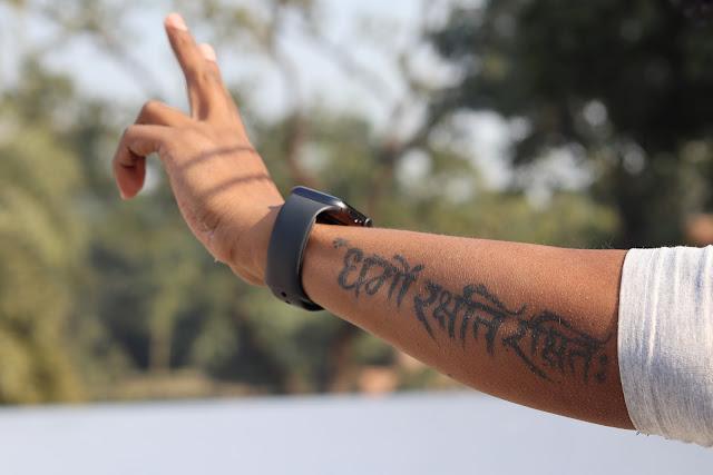 Dharmo Rakshati Rakshitah Tattoo The Nitesh Arya