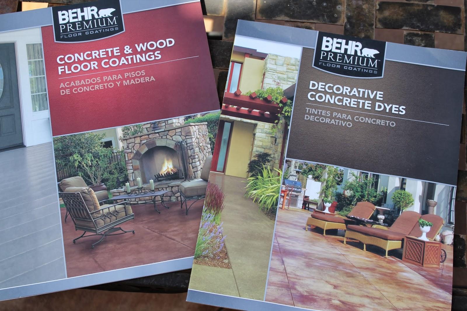 Behr Concrete Dyes Joy Studio Design Gallery Best Design
