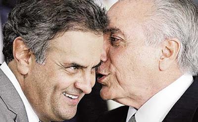 Únicos votos a favor Temer foram de aliados de Aécio Neves