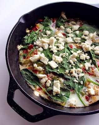 Egg white frittata