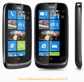 Zune Software For Nokia Lumia 610 Free Download