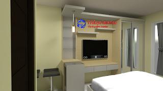 terbaru-interior-studio-apartemen-podomoro-golf-view