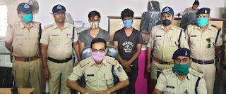आटो चालक के साथ मारपीट के वायरल वीडियो के 2 आरोपी गिरफ्तार