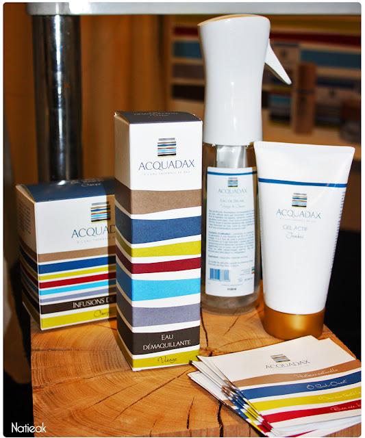 Acquadax: soins cosmétiques à base d'eau thermale