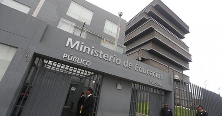 Aceptan renuncia de presidente del FONDEP, Juan Raul Cadillo Leon (R. S. Nº 005-2021-MINEDU)