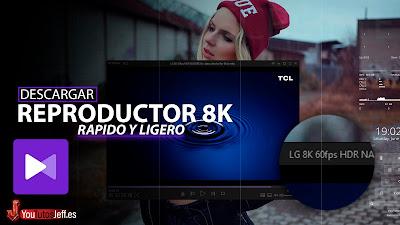reproductor 8k gratis