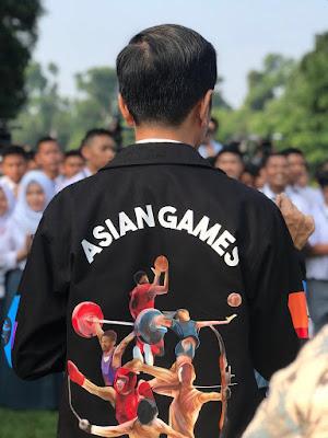 Presiden Ajak Promosikan Asian Games ke-18