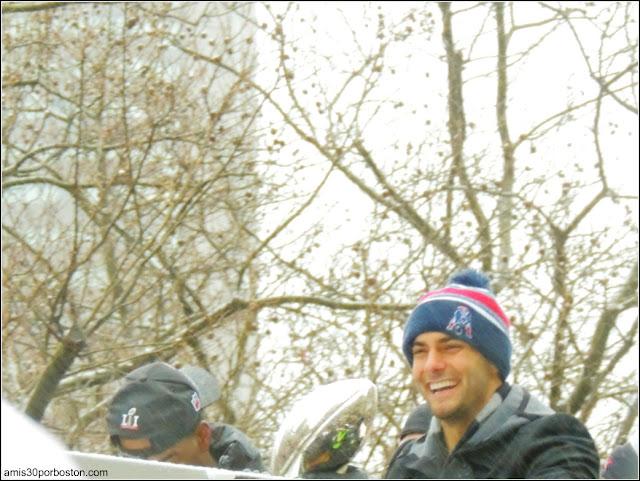 New England Patriots Jimmy Garoppolo: Vince Lombardi