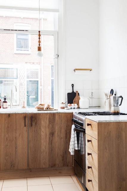 Pays-Bas / La cuisine naturelle d'une styliste d'intérieur /