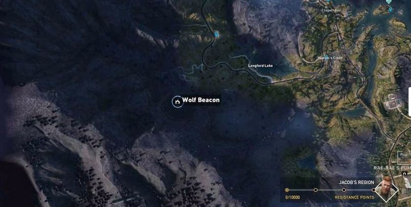 Dtg Reviews Far Cry 5 Wolf Beacon Locations With Map Call Of The