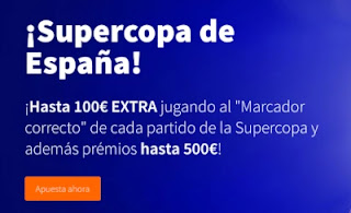 betsson promo Supercopa de España 2020