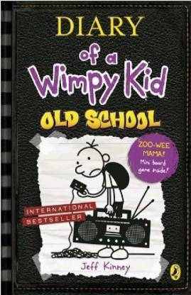 Old School: Diary Of A Wimpy Kid 11