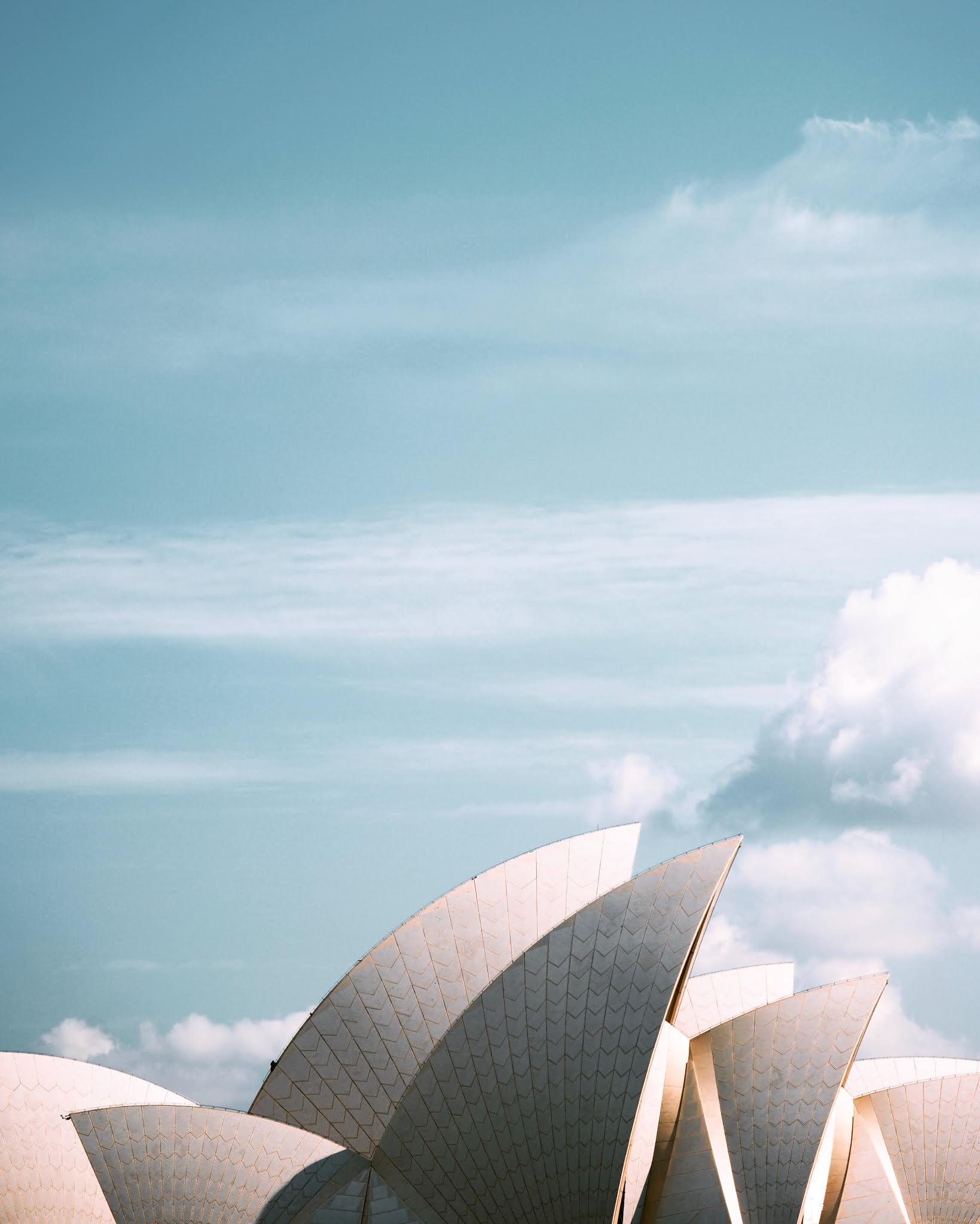 annie-spratt-sydney opera house on a clear crisp day