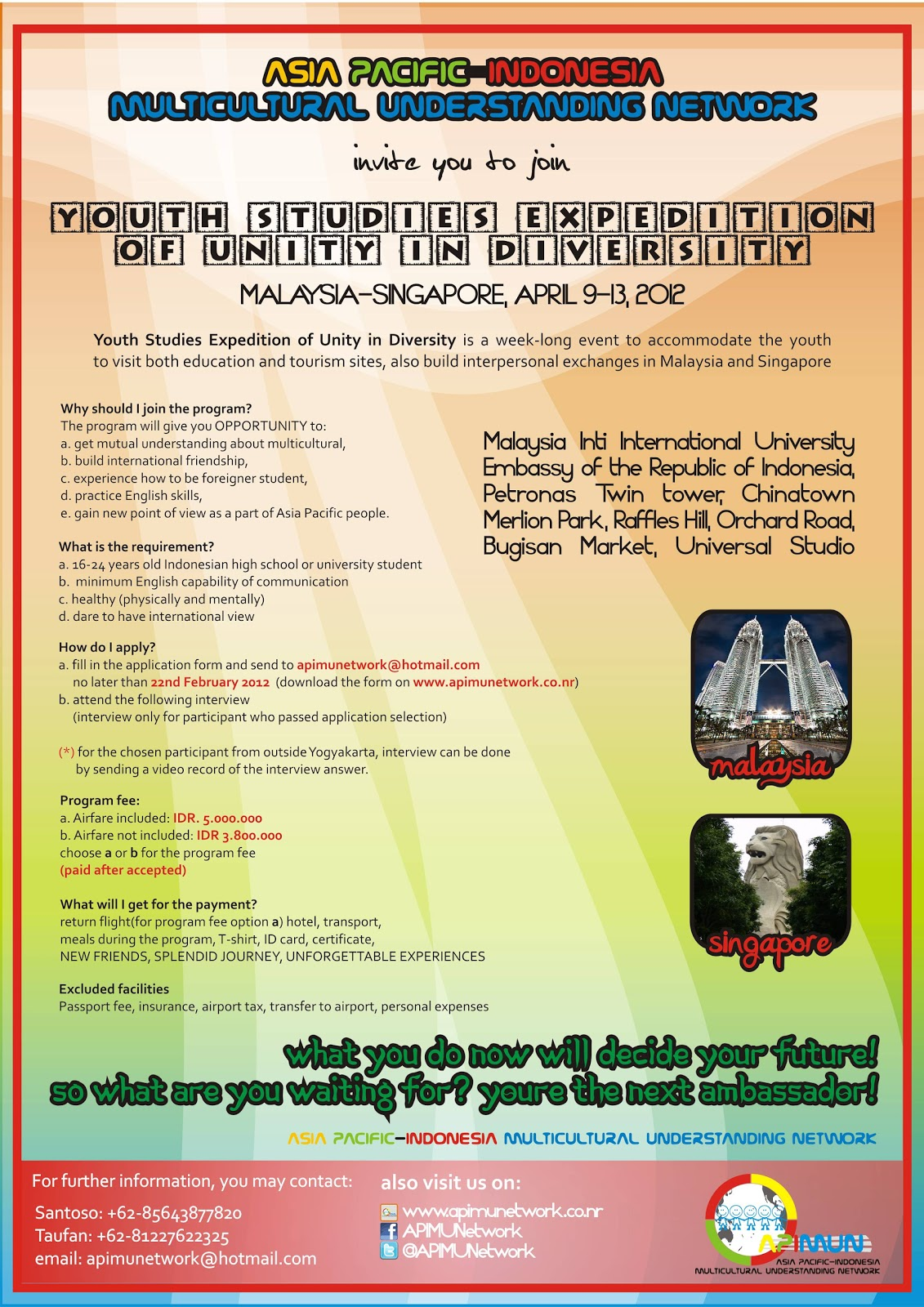 cific-Indonesia Multicultural Understanding Network | apimun org