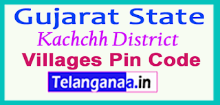 Kachchh District Pin Codes in Gujarat State