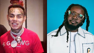 "Tekashi 6ix9ine Gets T-Pain Backup Over Snitching ""I Would Snitch So Hard"""