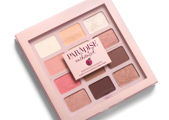 L'Oreal Paradise Enchanted Scented Eyeshadow Palette Review